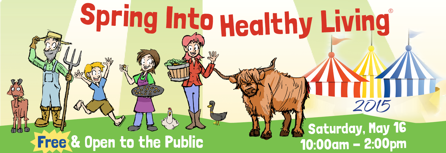 Spring Into Healthy Living Street Fair 2015