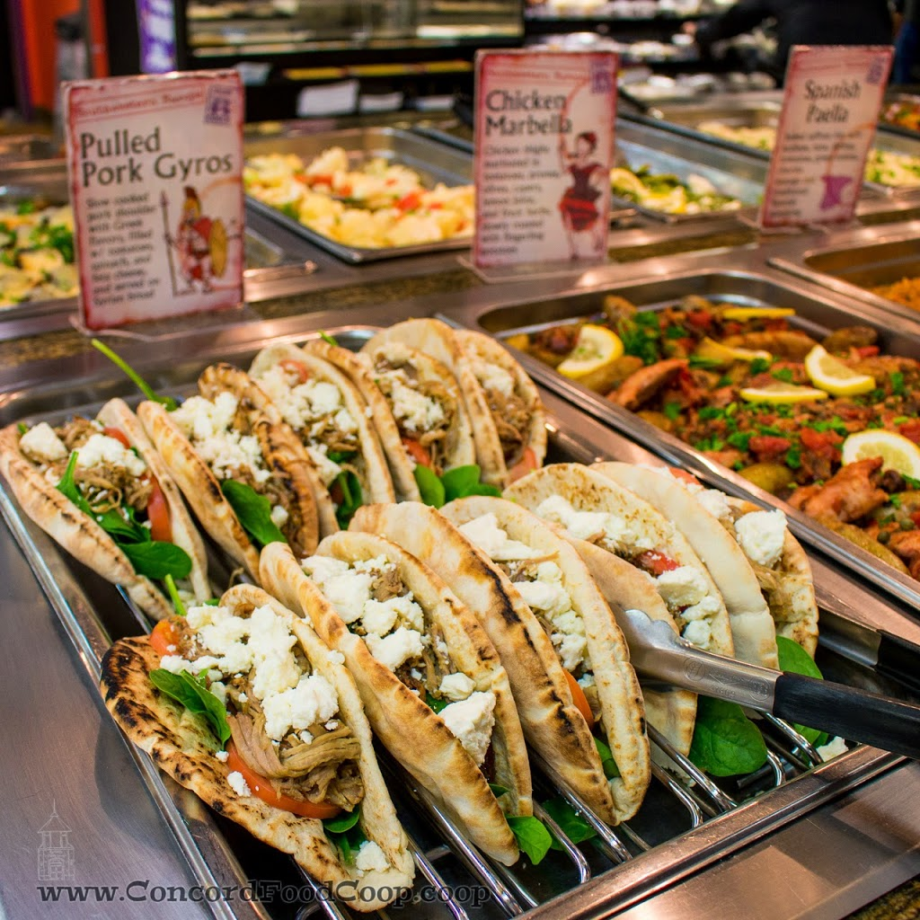 Co Op: International Cuisine At The Concord Food Co-op