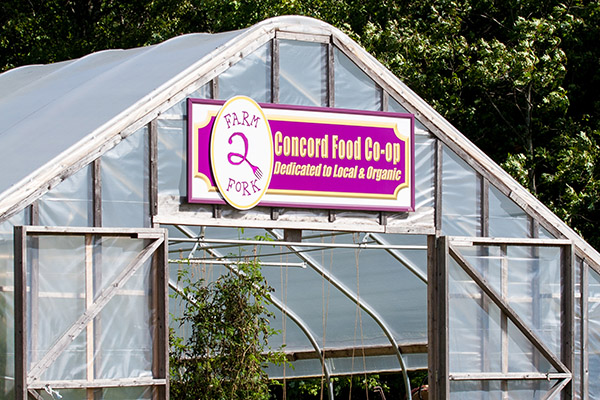 Concord Food Co-op Hoop House