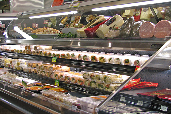 Grab-n-go deli at the Concord Food Co-op
